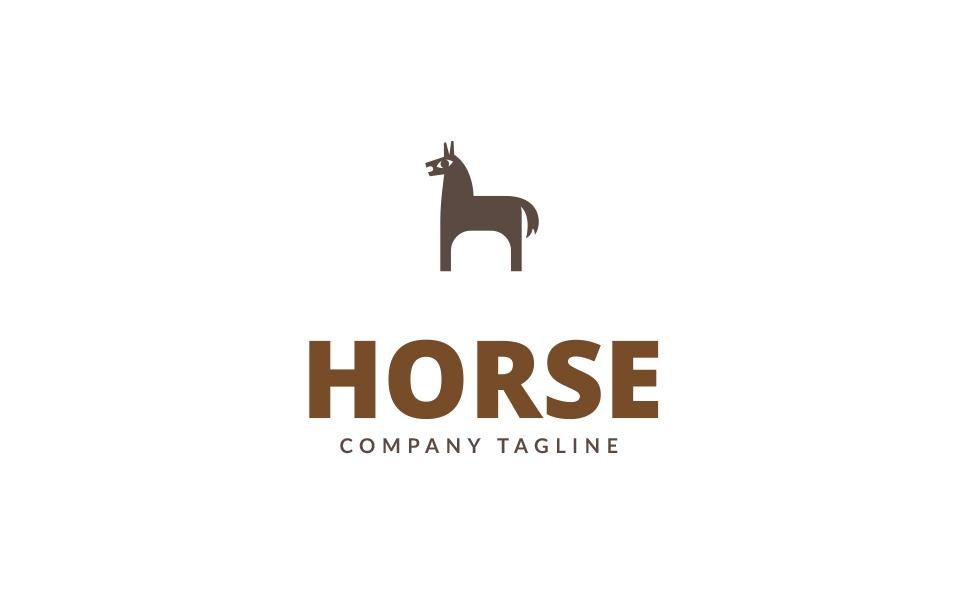 Horse Logo Template