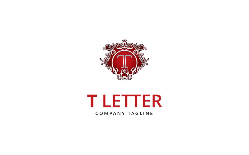 Tittle T Letter Logo Template