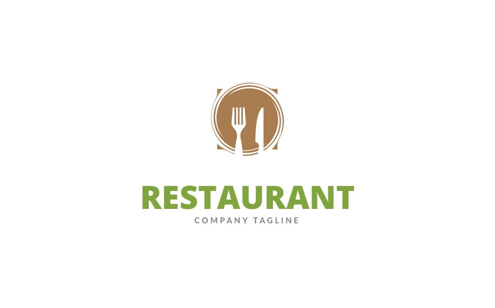 Restaurant - Logo Template