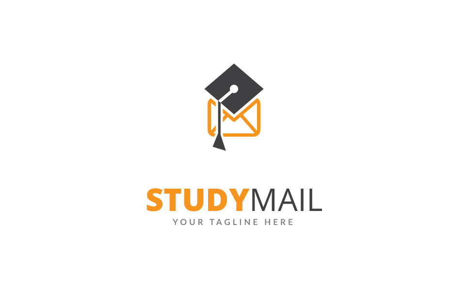Study Mail Logo Template