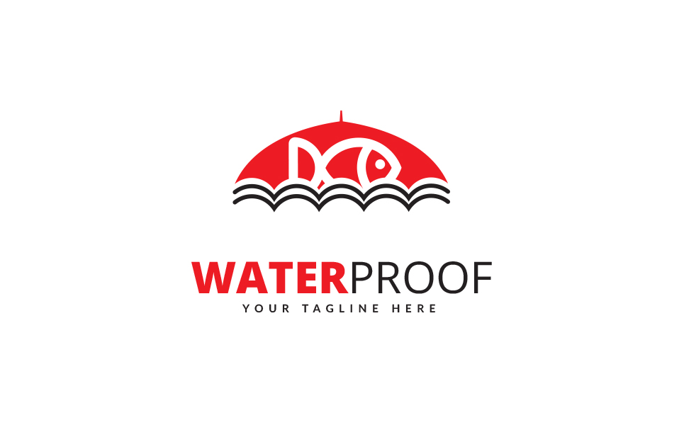 Water Proof Design - Logo Template