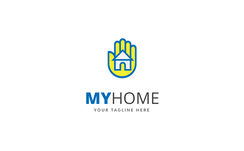 My Home Logo Template