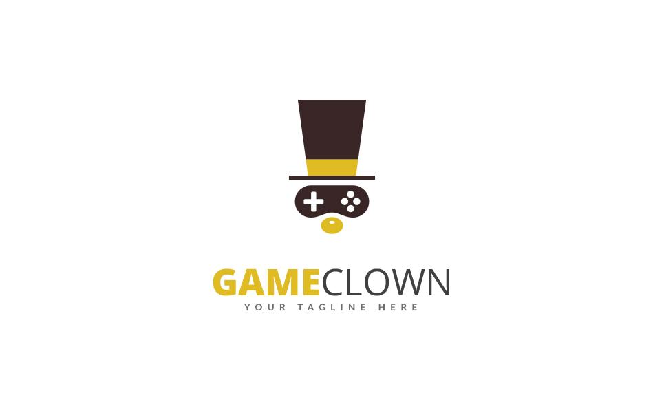 Game Clown Logo Template