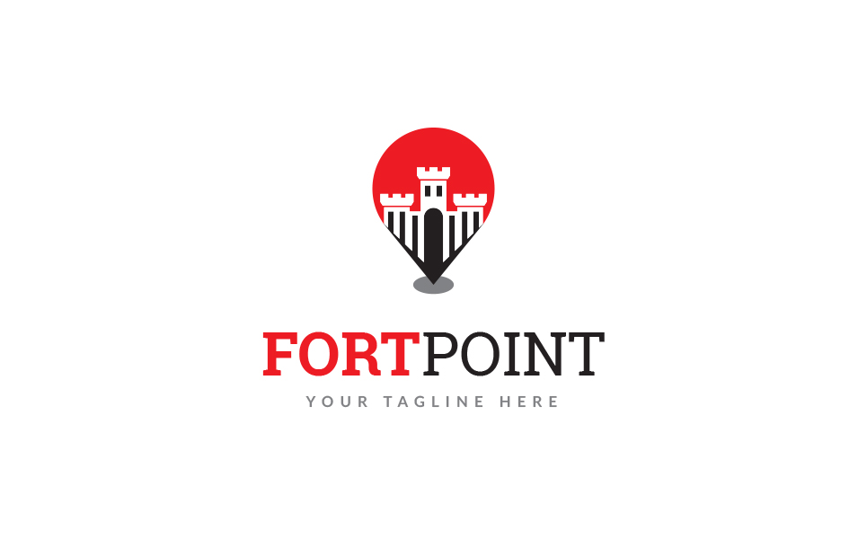 Fort Point Logo Template