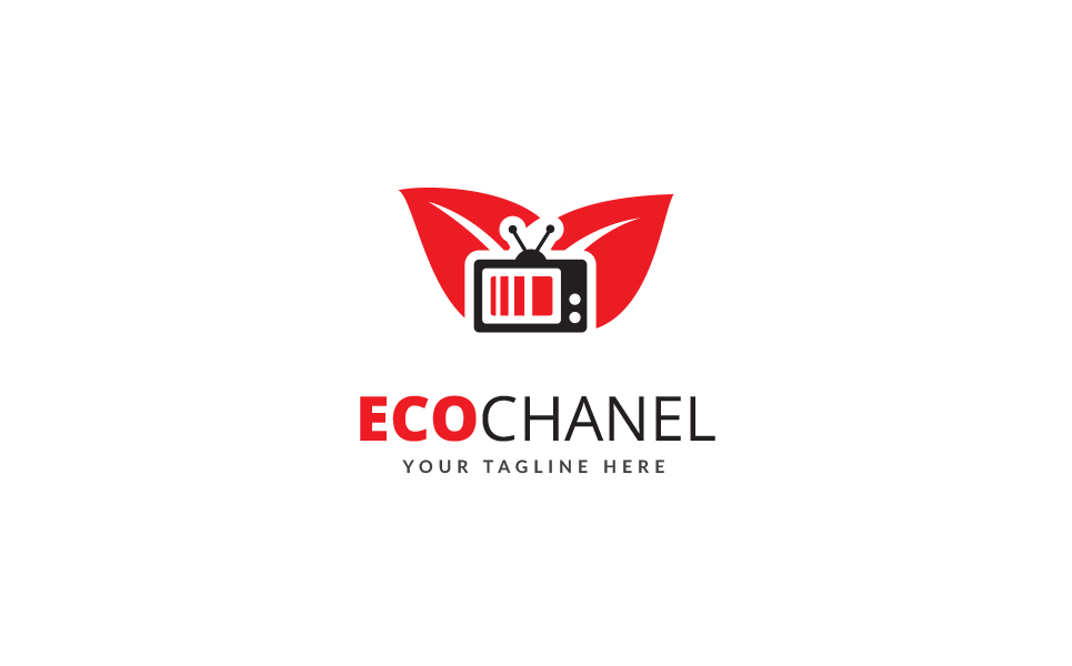 Eco Chanel Logo Template