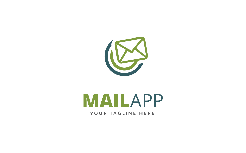 Mail App Logo Template