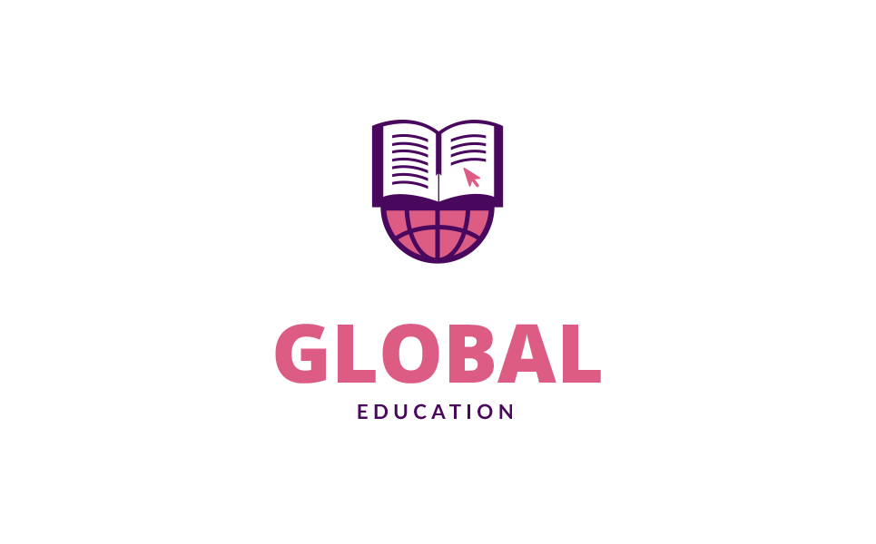 Global Education Logo Template