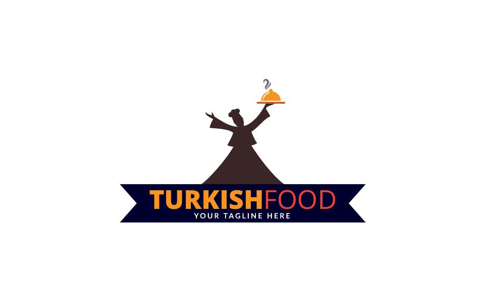 Turkish Food Logo Template