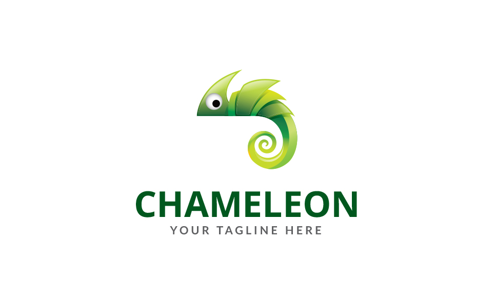 Chameleon Design Logo Template