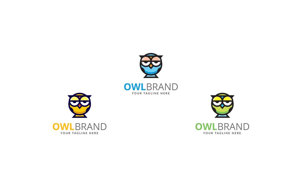 Owl Brand Design Logo Template