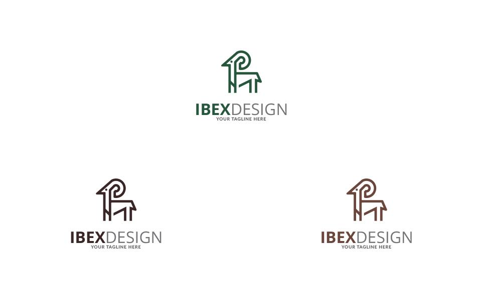 Ibex Design Logo Template