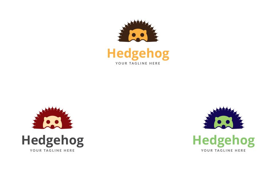 Hedgehog Design Logo Template