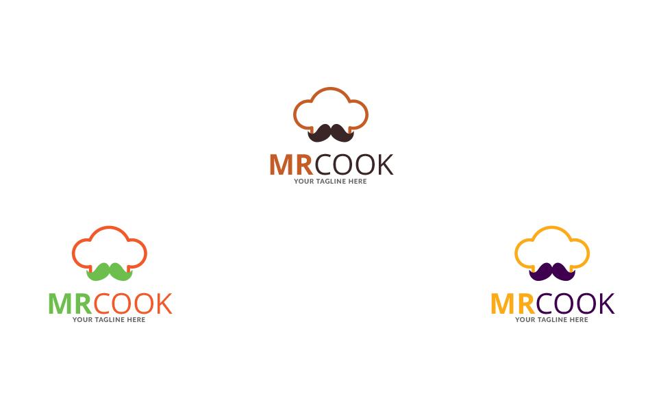 Mr Cook Design Logo Template