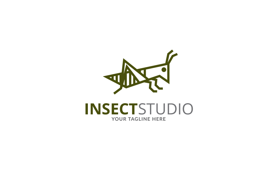 Insect Studio Logo Template