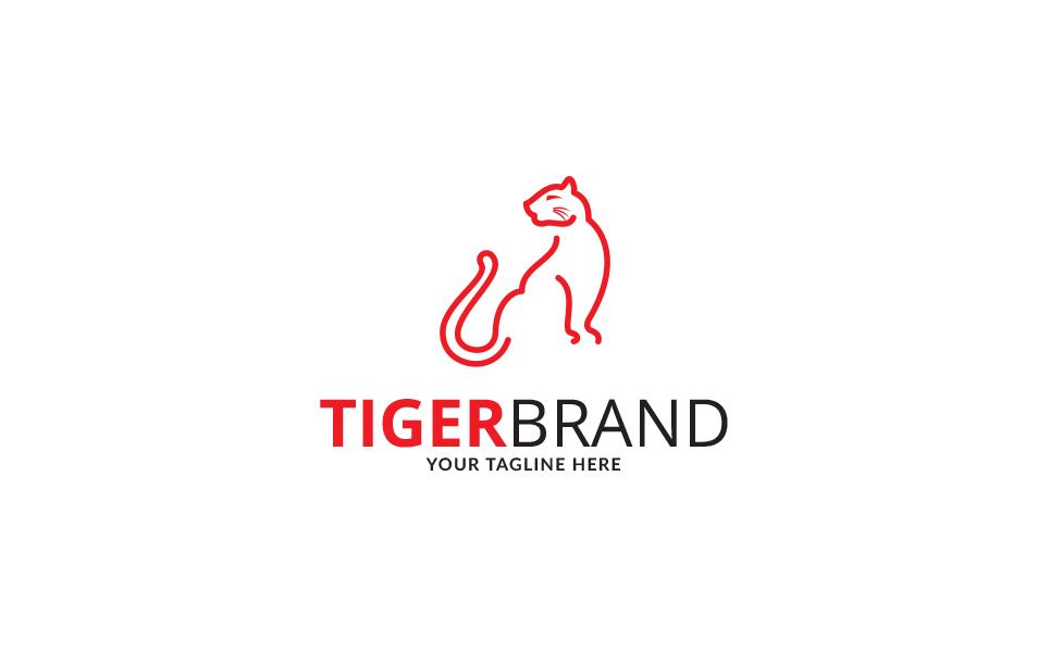 Tiger Brand Logo Template