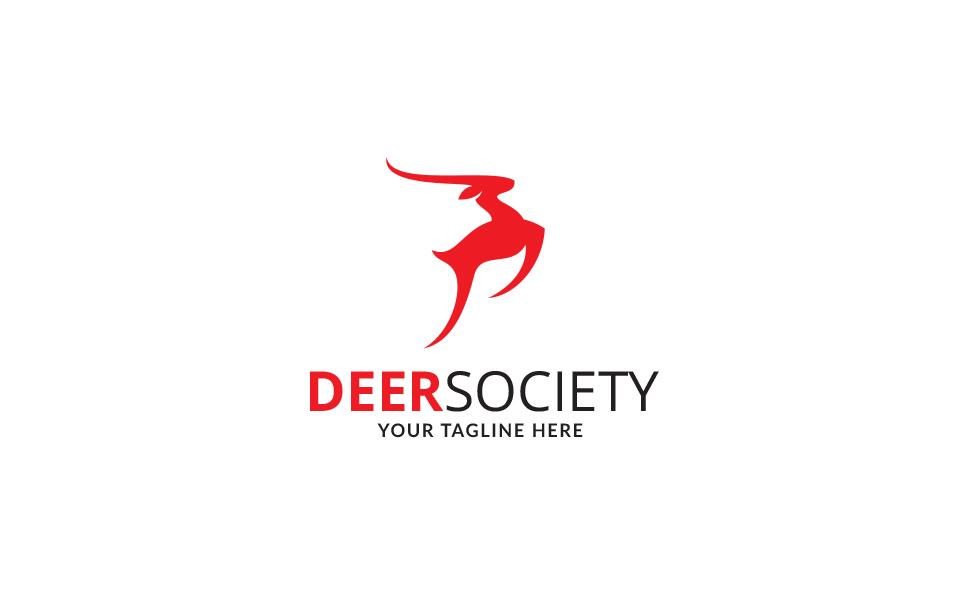 Deer Society Logo Template
