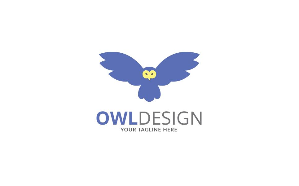 Owl Design Logo Template