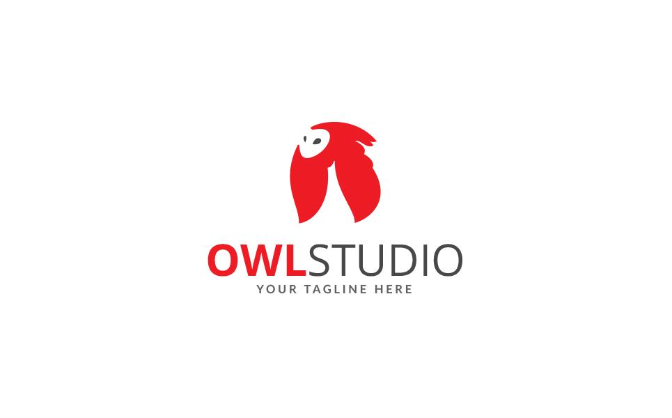 Owl Studio Logo Template