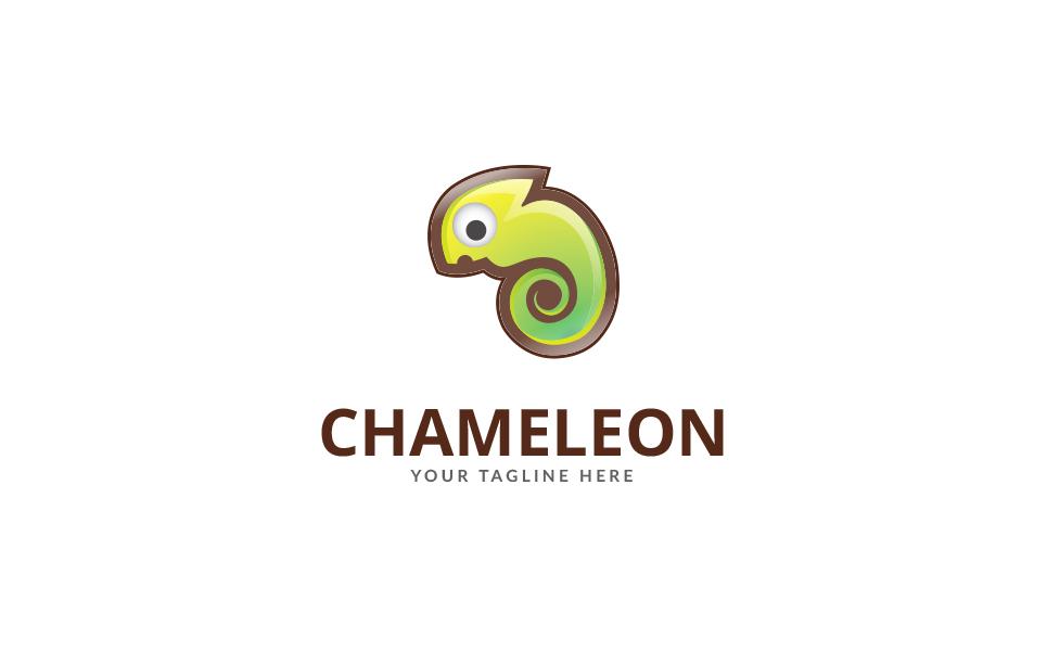 Chameleon Club Logo Template
