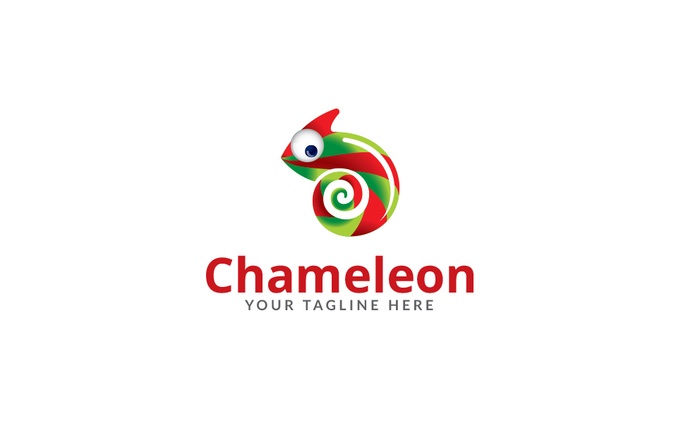 Chameleon Media Logo Template