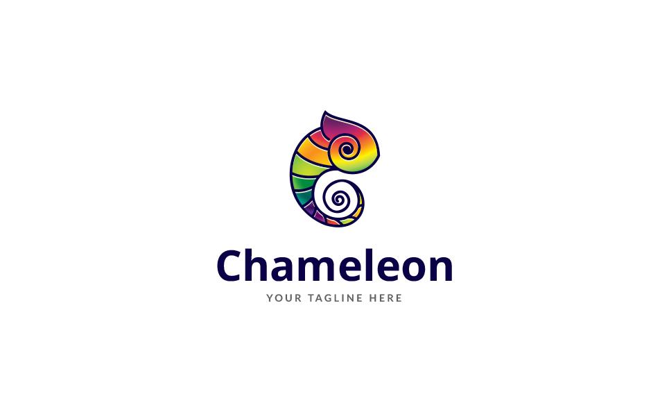 Chameleon View Logo Template