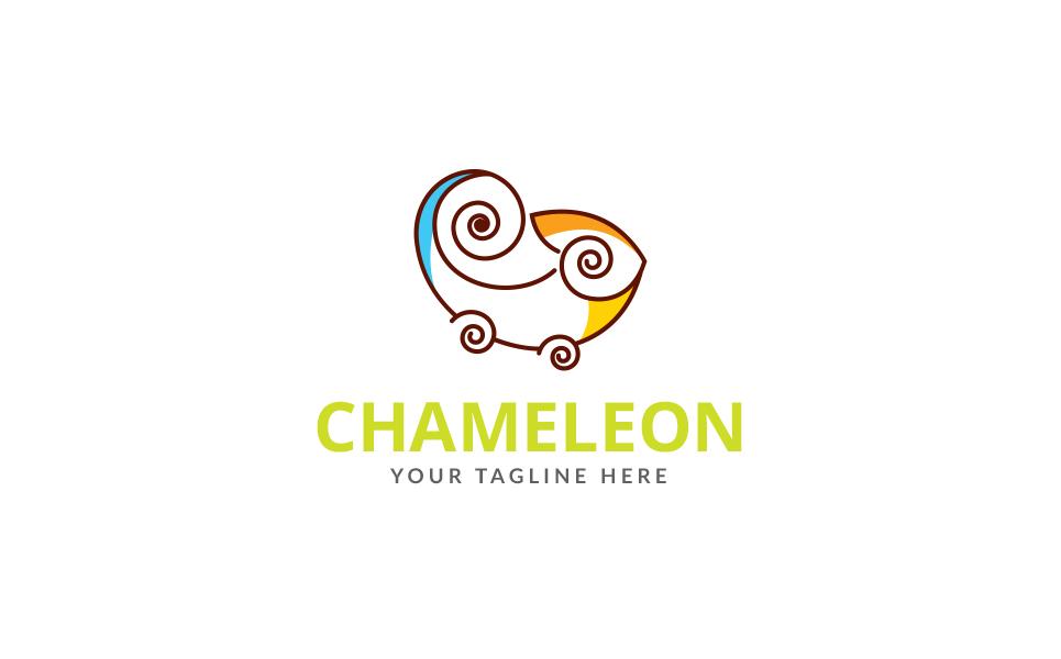 Chameleon Game Logo Template