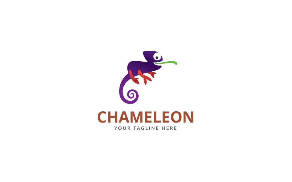 Chameleon Studio design Logo Template