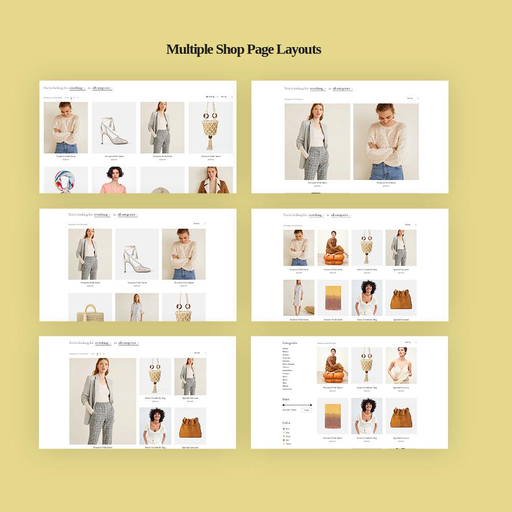 TMCurator Fashion store PrestaShop Theme